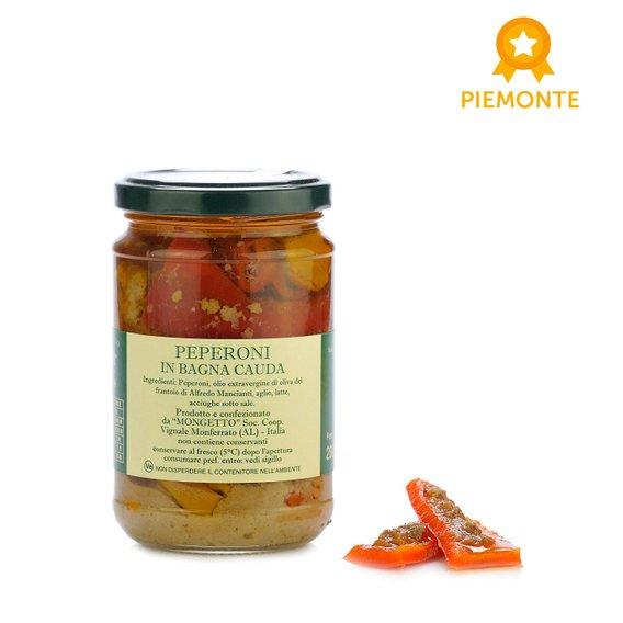Peperoni in Bagna Cauda 280g