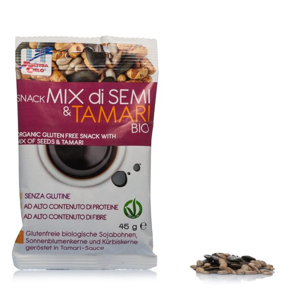 Snack Mix di Semi&Tamari Bio 45g