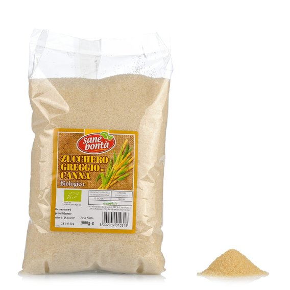 Zucchero Greggio Bio  1kg