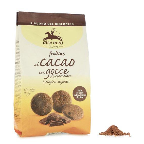 Frollini al Cacao e Gocce di Cioccolato 300g