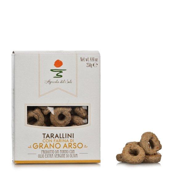 Tarallini con farina di Grano Arso 250g