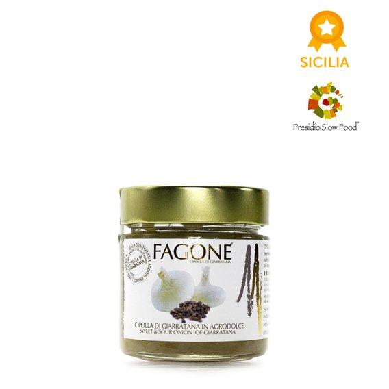 Filetti di Cipolla di Giarratana in Agrodolce 300g
