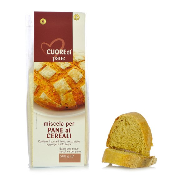 Miscela per Pane ai Cereali 500g