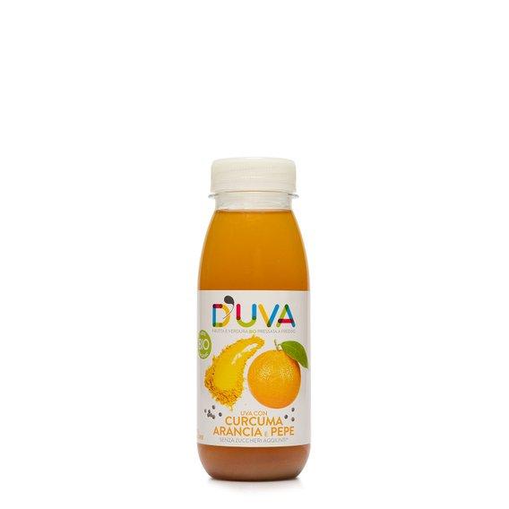Succo Uva, Curcuma e Arancia Bio 250g