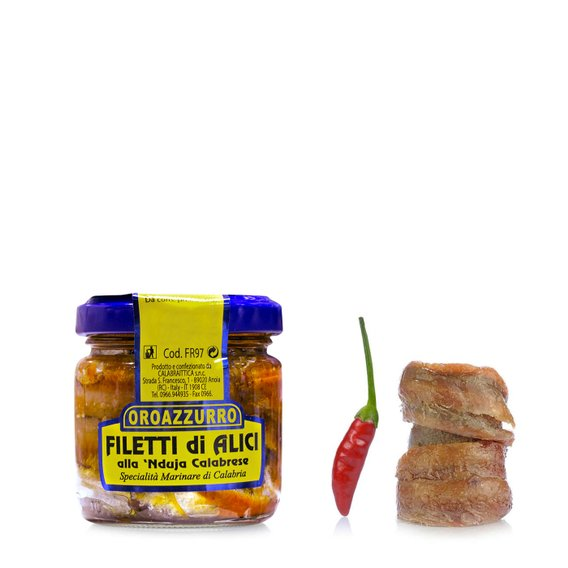 Filetti Alice con Nduja  100g