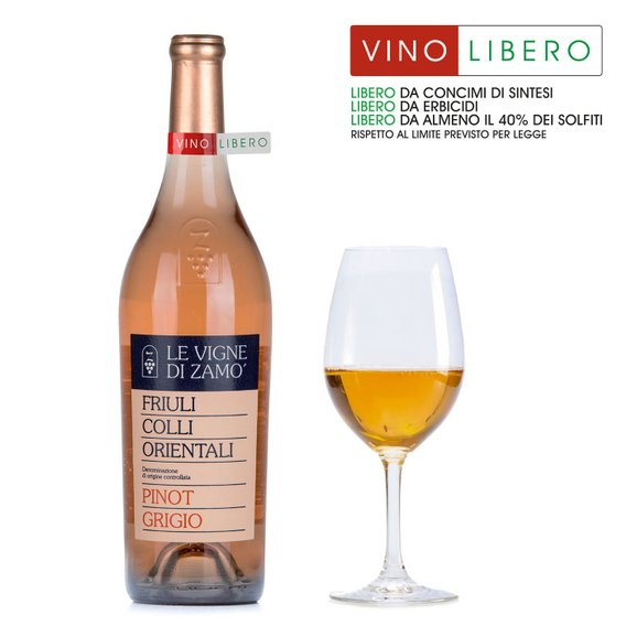 Pinot Grigio Colli Orientali del Friuli DOC 0,75l