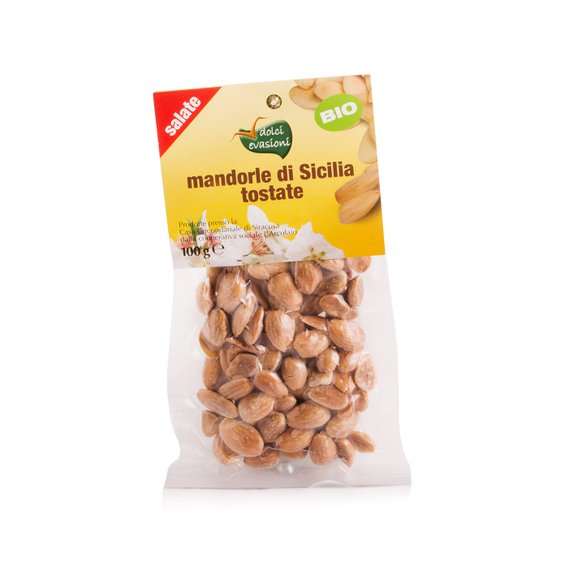 Mandorle di Sicilia Salate Bio 100g