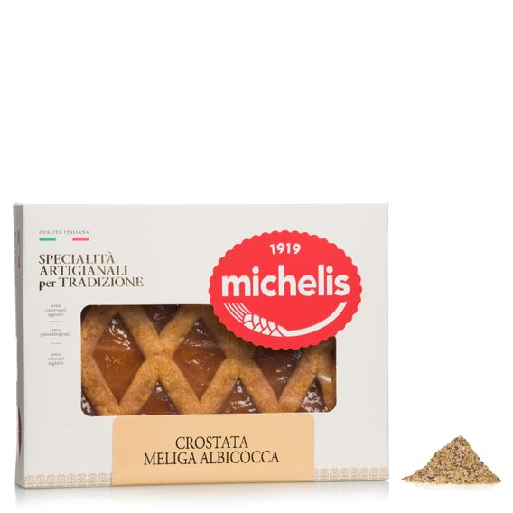 Crostata di Meliga all'Albicocca  340g