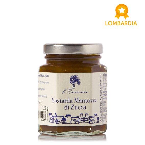 Mostarda Mantovana di Zucca 120g