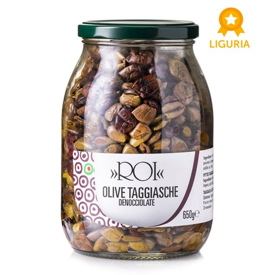 Olive Taggiasche Asciutte  650g