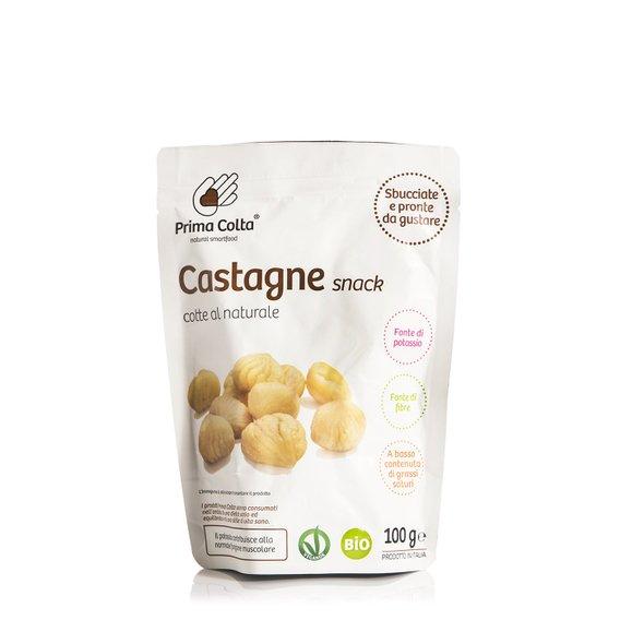 Castagne Bio Cotte al Naturale 100g
