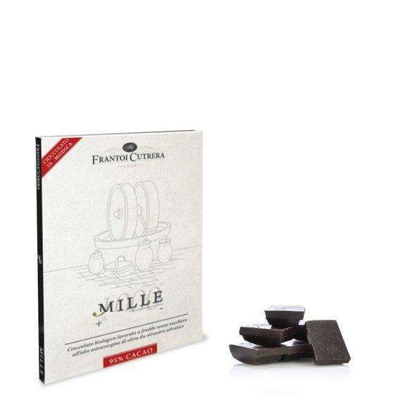 Cioccolato di Modica 95% Olio Evo 50g