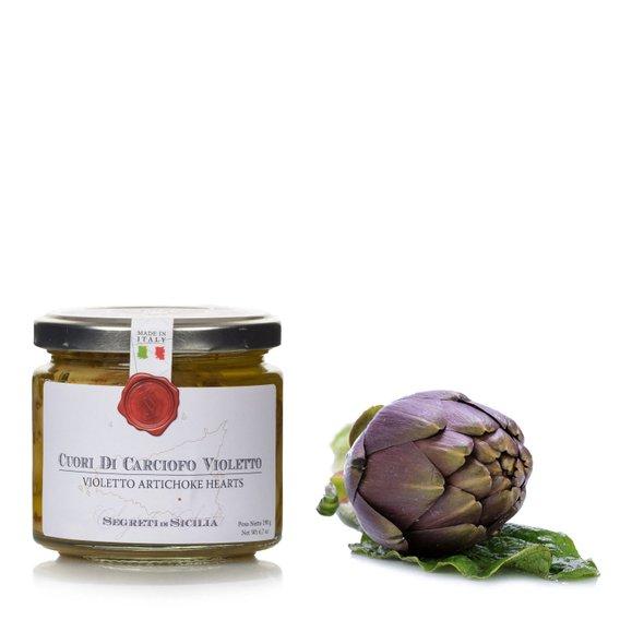 Cuori di Carciofo Violetto  190g