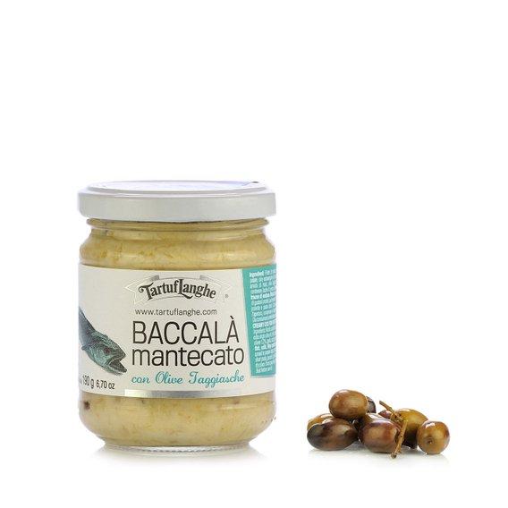 Baccalà Mantecato alle Olive Taggiasche 190g