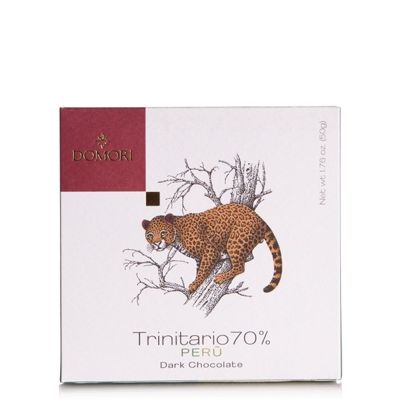 Tavoletta di Cioccolato con Cacao Trinitario 70% Perù 50g