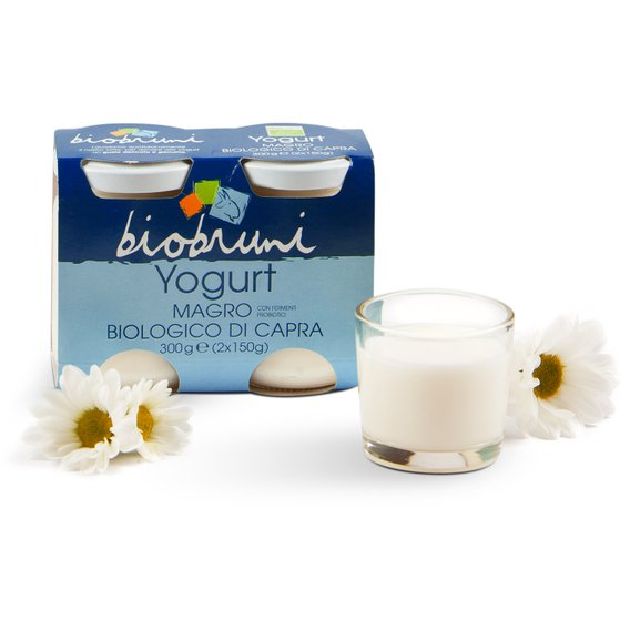 Yogurt Magro Biologico di Capra 2x150g