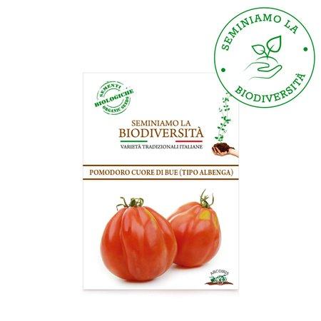 Semi Bio Pomodoro Cuore di Bue (tipo Albenga) 0,15g
