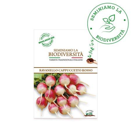Semi Bio Ravanello Cappuccetto 3gr