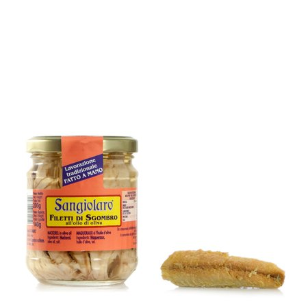 Filetti di Sgombro in Olio Evo 200g