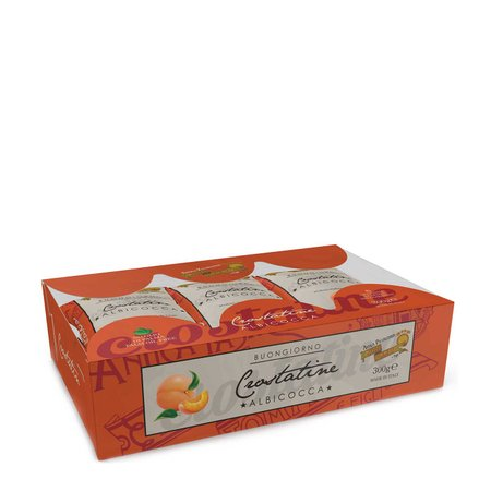 Crostatina all'albicocca 6x50g