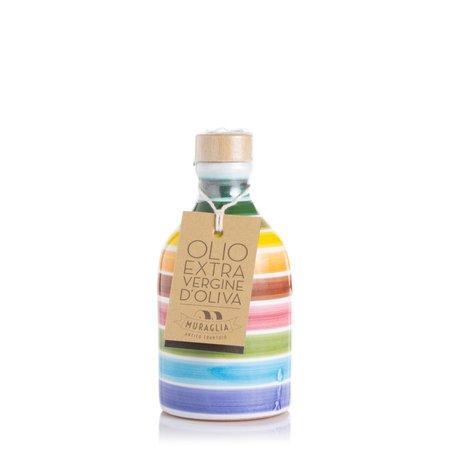 Orcio Arcobaleno con Olio Monocultivar Oliva Coratina  0,1l