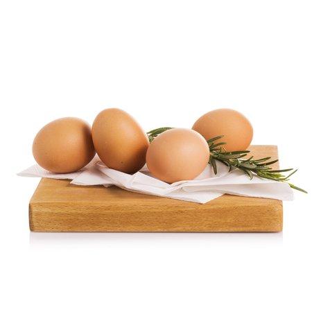 Uova biologiche 4 pezzi