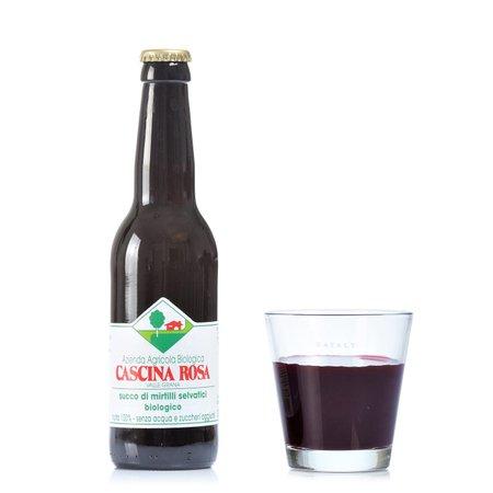 Succo di Mirtillo Selvatico Senza Zuccheri Aggiunti 330 ml