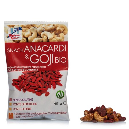 Snack Anacardi&Goji Bio 45g