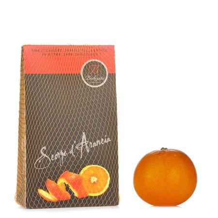 Scorzette d'Arancia Ricoperte di Cioccolato 150g