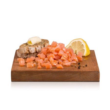 Cubetti di Salmone Affumicato Norvegese  100g
