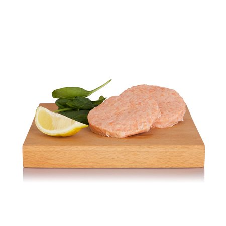 Fishburger di Salmone 80gx2
