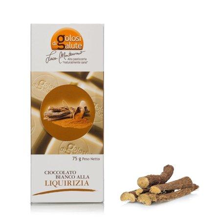 Barretta Cioccolato Bianco Liquirizia 75g