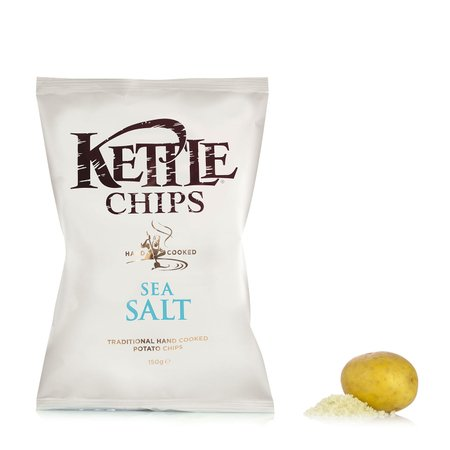 Patatine Chips al Sale Marino 100g
