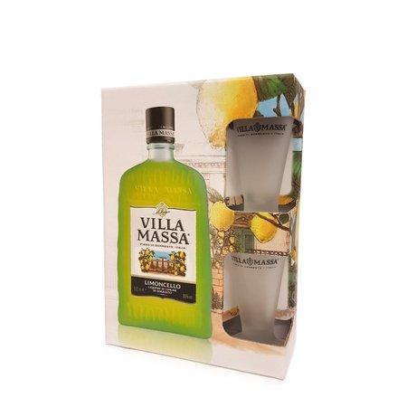 Kit Limoncello 0,5l con bicchieri