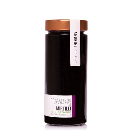 Confettura Extra di Mirtilli Bio 350g