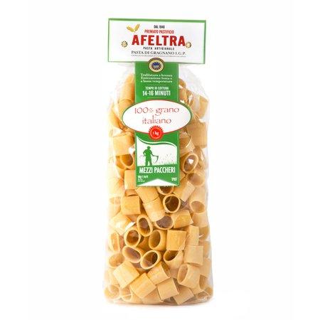 Mezzi Paccheri 100% Grano Italiano  1Kg