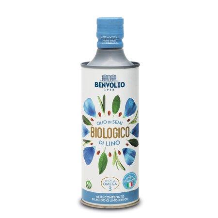 Olio Semi Di Lino Bio 0,5l