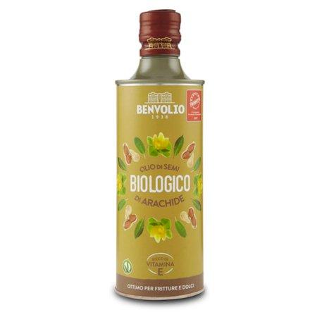 Olio di Semi di Arachide Bio 0,5l