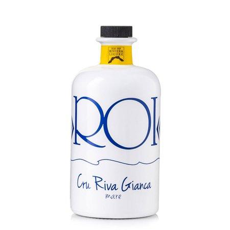 Olio Extravergine di Oliva Cru Riva Gianca DOP Riviera Ligure 0,5l