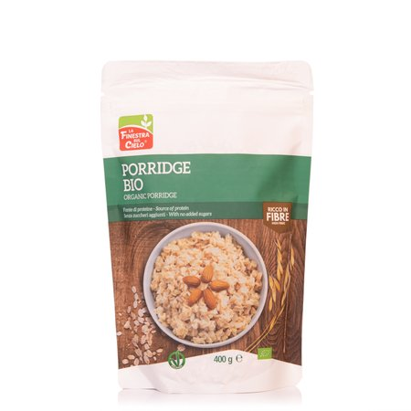 Preparato per Porridge all'Avena Bio 400g