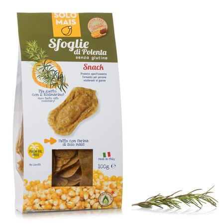 Sfoglie di polenta al rosmarino 100g