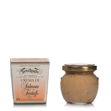 Crema di Salmone con Tartufo 90gr