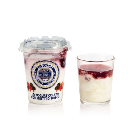 Yogurt con Frutti di Bosco 180g