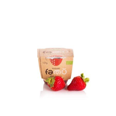 Yogurt Intero Bio alla Fragola 125g