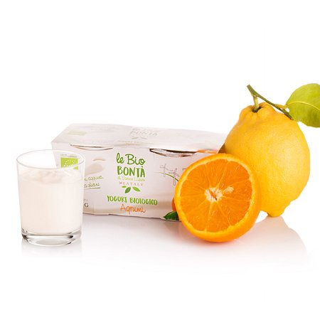 Yogurt Intero agli Agrumi Bio 2x125g