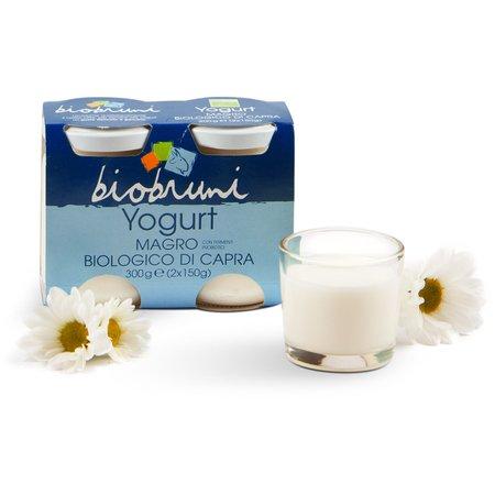 Yogurt Magro Biologico di Capra 2x150g
