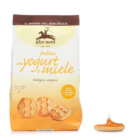 Frollini con Yogurt e Miele 350 g