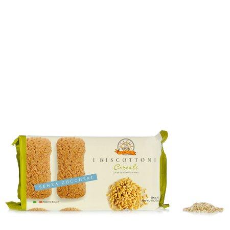 Biscottoni ai Cereali senza Zucchero 290g