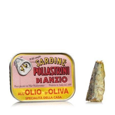 Sardine olio di oliva 100g