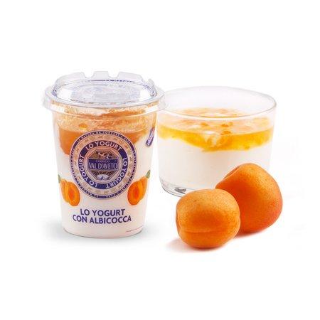 Yogurt con albicocca 180g